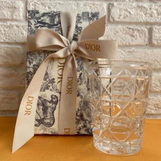 Прозрачный стакан Dior (11696)   -