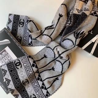 Теплый шарф Chanel (9496) -