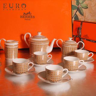 Чайный сервиз Hermes Mosaique au 24 на 6 персон (6299) -